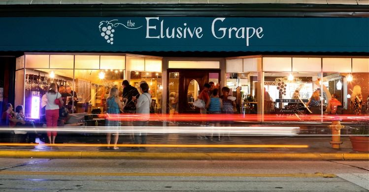 We hope to see you at Elusive Grape tonight!